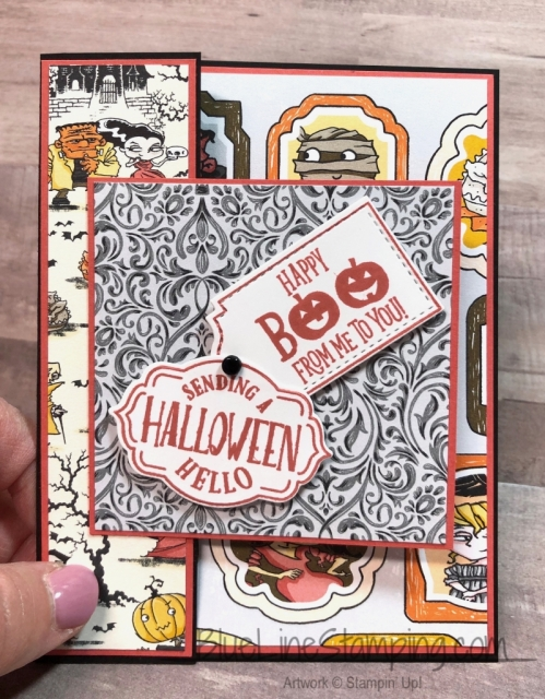 Stampin' Up!, tags tags tags, Jackie Beers, Spooktacular Bash