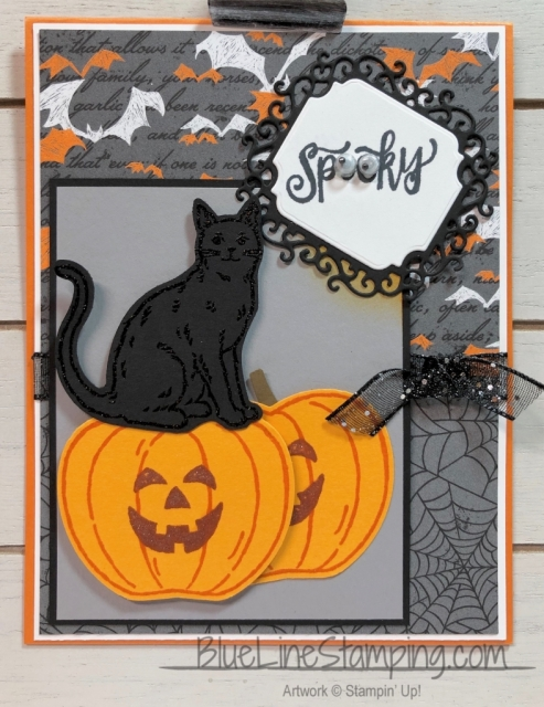 Stampin' Up!, Spooktacular Bash, Nine Lives, Harvest Hellos, Jackie Beers