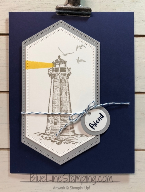 Stampin' Up!, Sailing Home, High Tide, Waterfront, Jackie Beers