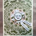 Bird Ballad, Laser cut cards, laser cut tin, Jackie Beers, Stampin