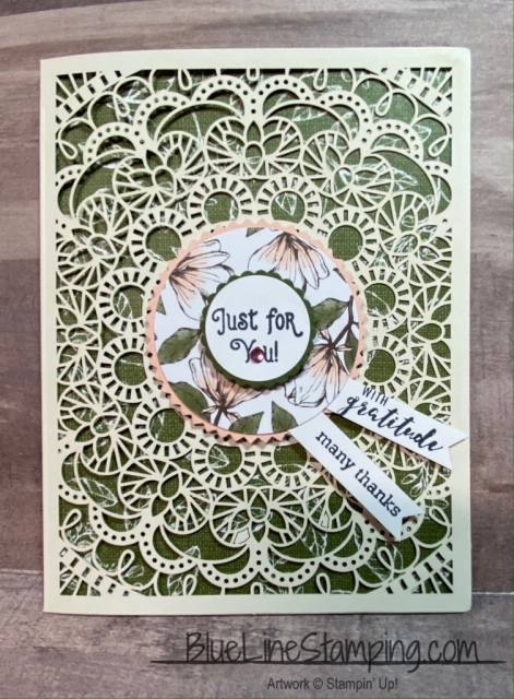Bird Ballad, Laser cut cards, laser cut tin, Jackie Beers, Stampin' Up!