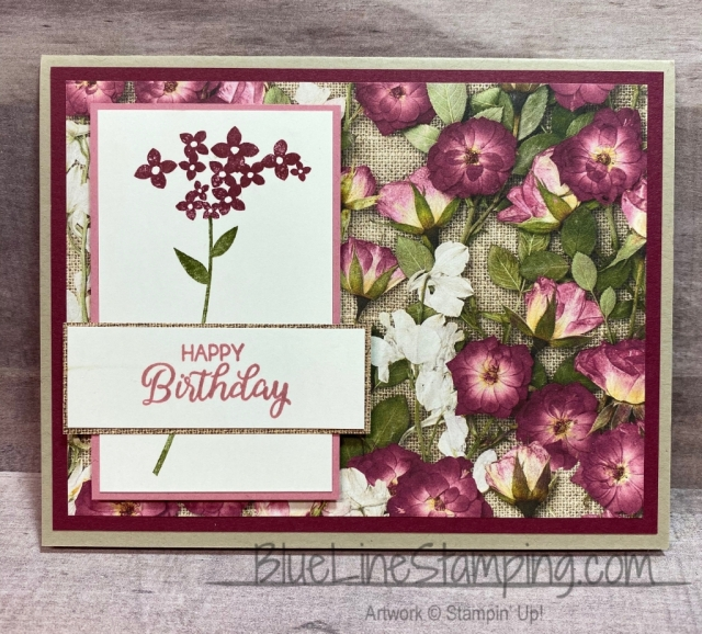 Stampin' Up!, Pressed Petals, Beautiful Bouquet, Jckie Beers