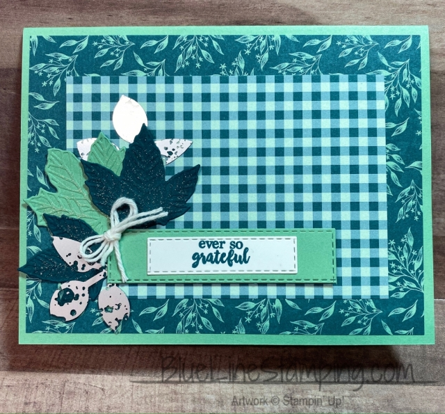 Stampin' Up!, Gathering Leaves, Come to gather, Jackie Beers