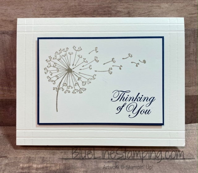 #simplestamping, Dandelion Wishes, Jackie Beers, Simply Scored, Stampin' Up!