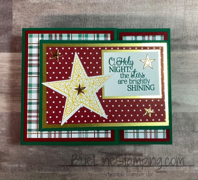 Stampin' Up!, So Many Stars, Wrapped In Plaid, Perfectly Plaid, Jackie Beers