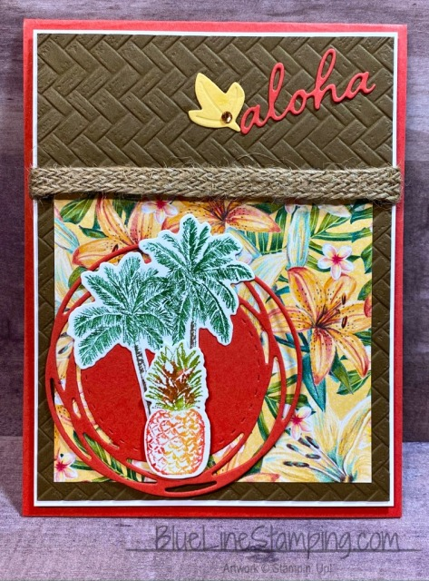Coastal Weave, Timeless Tropical, Painted Labels, Stampin' Up!, Jackie Beers