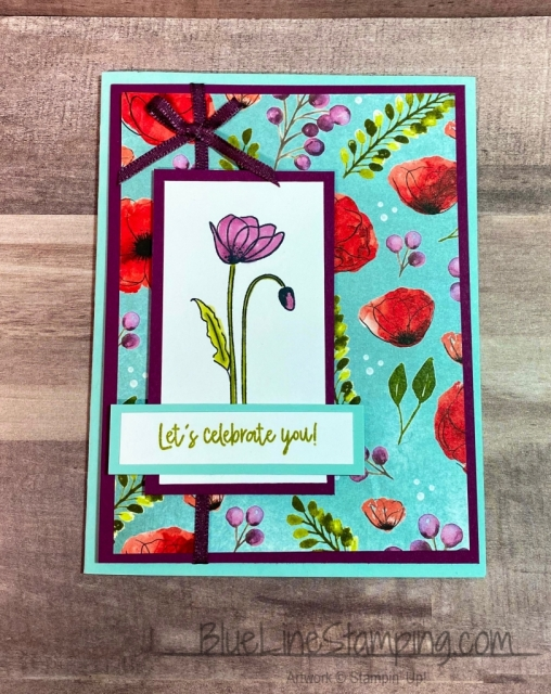 Stampin' Up!, Painted Poppy, Bonanza Buddies, Jackie Beers