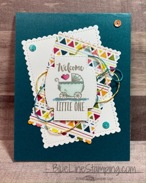 Stampin' Up!, Wittycisms, Stitched So Sweetly, Jackie Beers