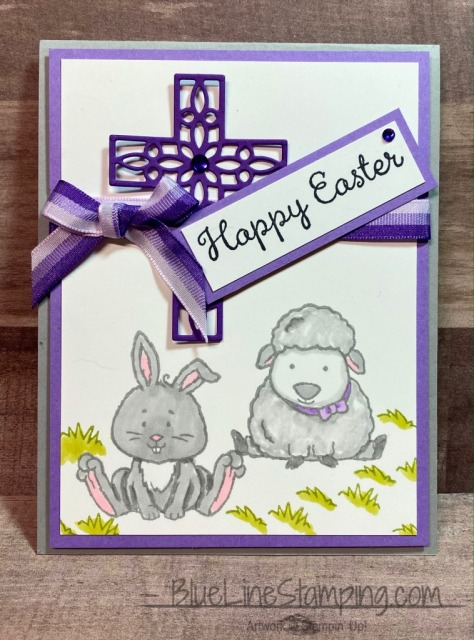 Cross of Hope, Welcome Easter, Stampin' Up!, Jackie Beers