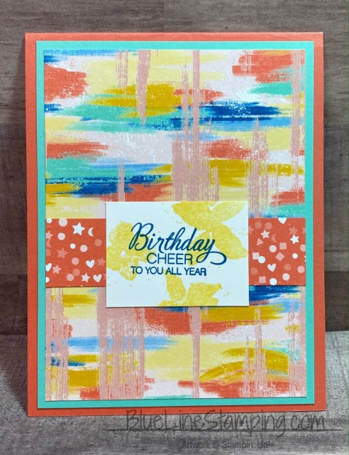 Stampin' Up!, Follow your art, Parcel & Petals, #simplestamping, Jackie Beers