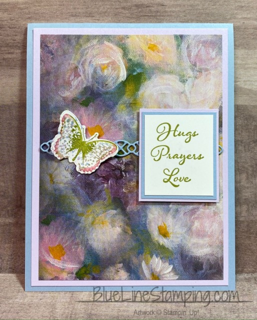 Stampin' Up!, Positive Thoughts, Nature's Thoughts, Perennial Essence, Jackie Beers